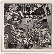 A4 A3 A3+ FRAME OPTIONS M C ESCHER Maurits Cornelis Art Surreal Poster Print