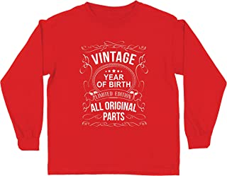 lepni.me Kids T-Shirt Customized Year All Original Parts Vintage Birthday Gift