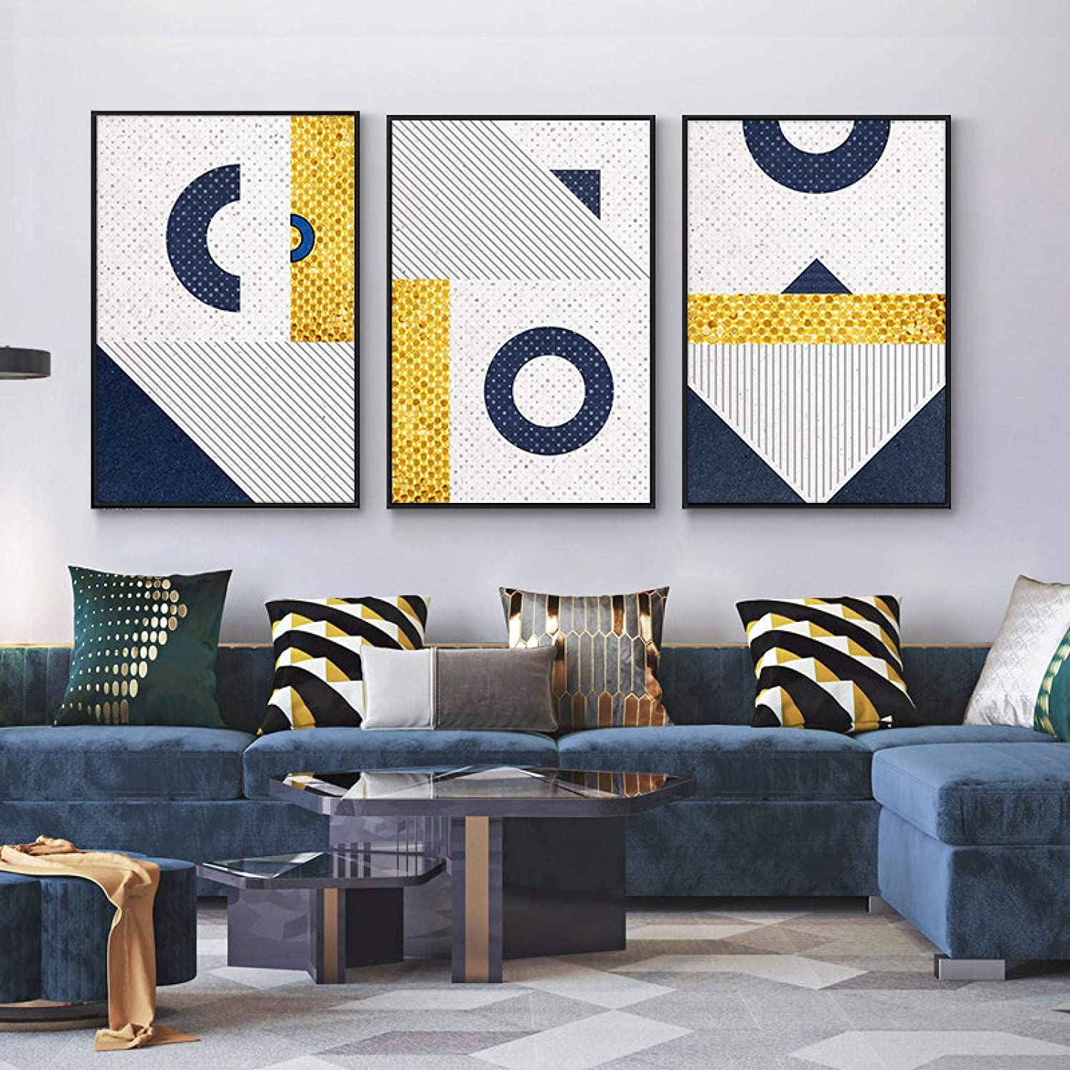 Abstract Geometric Pattern Vector On Canvas Prin San Diego Mall For Max 85% OFF Room Living