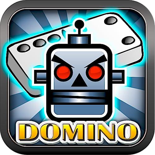Evil Robots Domino Danger Bot Head Free Dominoes Games for Kindle Multi Tiles Dominos Free Bonus Multiplayer CPU Boost Jackpot Best Dominoes Game