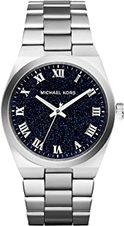 Michael Kors Channing Midnight Blue Shimmer Dial Stainless Steel Ladies Watch MK6113