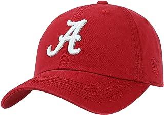 Alabama Crimson Tide - Adjustable NCAA Crew Collegiate Hat - Adult, One Size Fits All