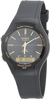 Casio Casual Watch Analog-Digital Display for Boys AW-90H-9EV