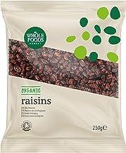 Whole Foods Market - Uvas pasas ecológicas, 250 g