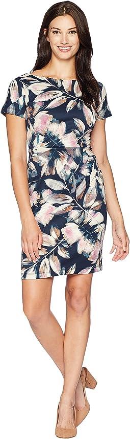 Gusset w/ Drop Shoulder Sleeve Dress