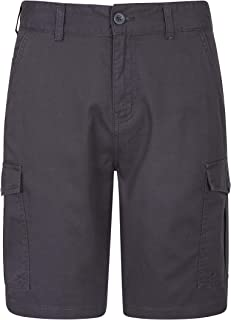 Mountain Warehouse Lakeside Mens Shorts - 100% Durable Twill Cotton Cargo Shorts, Durable Summer Shorts, 6 Pockets - for W...