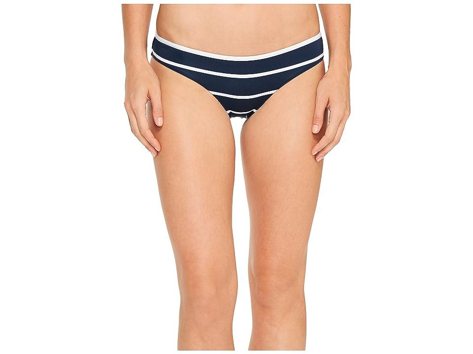 Seafolly Castaway Stripe Hipster Bottom (Indigo) Women