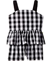 Kate Spade New York Kids - Gingham Romper (Big Kids)