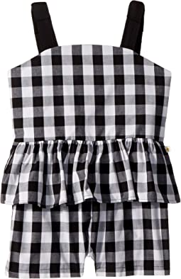 Kate Spade New York Kids Gingham Romper (Big Kids)