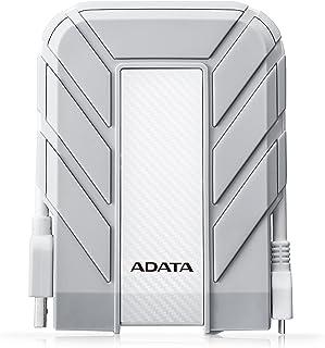 ADATA DDUDAT070 Disco Duro Externo 1TB, 5400 RPM, Color Blanco