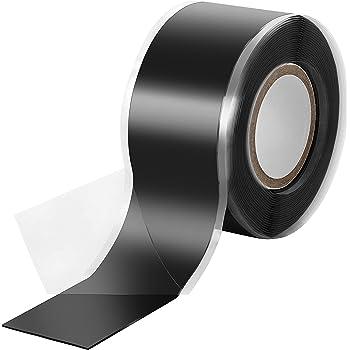 50mm breit Wasser, Luft blau Isolierband und Dichtungsband Silikon Tape Reparaturband Poppstar 3m selbstverschwei/ßendes Silikonband