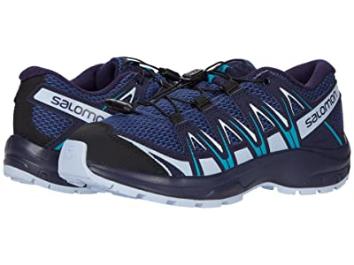 Salomon Kids Xa Pro 3D (Little Kid/Big Kid) (Blue Indigo/Kentucky Blue/Capri Breeze) Kids Shoes