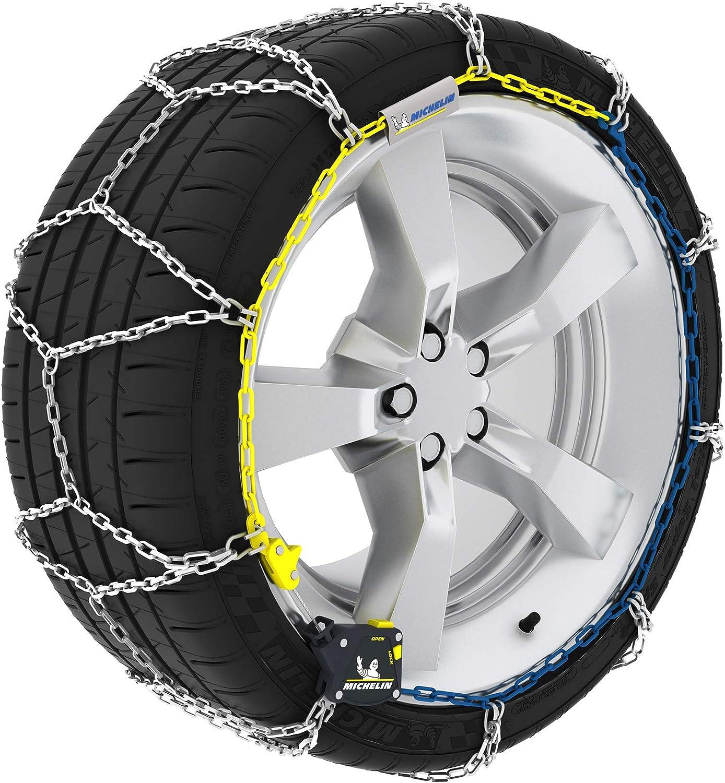compatibles ABS y ESP M1 Extrem Grip 59 Michelin 92307 Cadenas de nieve 2 piezas T/ÜV//GS y /ÖNORM