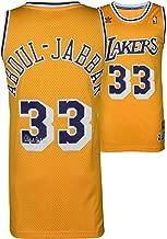 Kareem Abdul-Jabbar Los Angeles Lakers Autographed Gold Adidas Swingman Jersey - Fanatics Authentic Certified