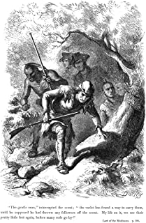Last Of The Mohicans 1872Nillustration By Felix Octavius Carr Darley From An 1872 Edition Of James Fenimore CooperS The La...