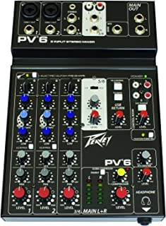 Peavey PV 6 Analog 6-Channel Mixer