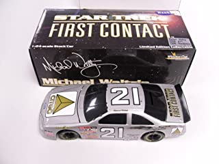 Michael Waltrip #21 Citgo Star Trek First Contact 1996 Thunderbird 1:24 Scale by Action Performance