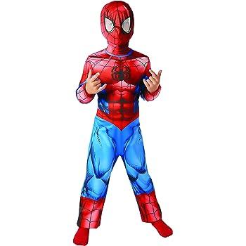 Rubies - Disfraz oficial de Spiderman para niños, talla S - 104cm ...
