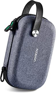 UGREEN Travel Case Gadget Bag Small, Portable Electronics Accessories Organiser Travel Carry Hard Case Cable Tidy Storage ...