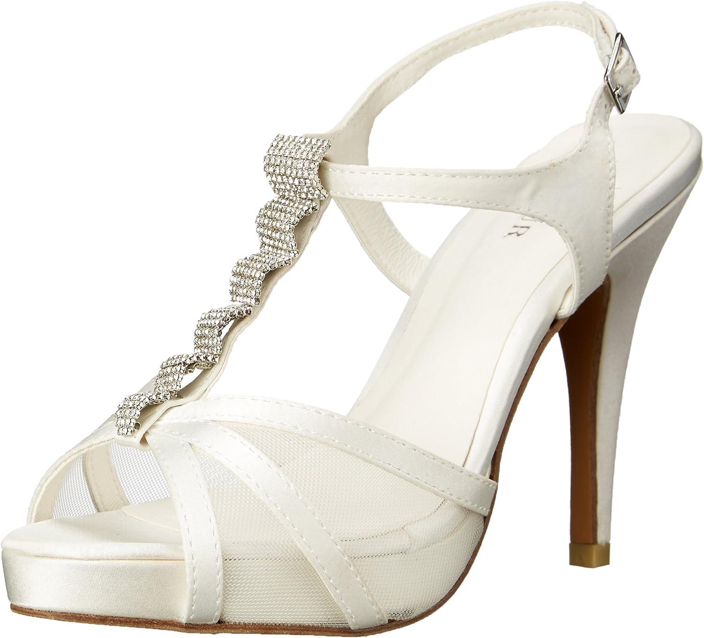 Menbur Womens Carolina Platform Dress Sandal