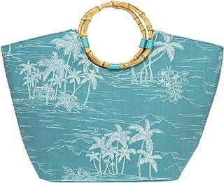 Küstenluder Damen Tasche Marla Tropische Palmen Tiki Shopper