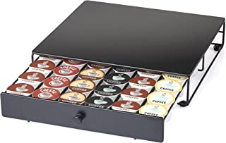 Nifty Under the Brewer Coffee Pod Storage Drawer for K-Cup Pods. Holds 36 Coffee Pods