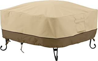 Classic Accessories Veranda Square Fire Pit/Table Cover, 30-Inch