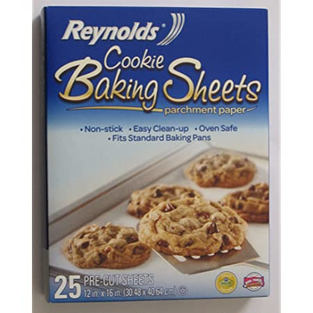 1 Roll 11 Yards Non-Stick Parchment Paper Dual-Sided Wax Paper Baking Parchment in Oven Cookie Baking Sheets for Baking Cookies Bread Cup Cake Air Fryer Steaming Hamburger Patty
