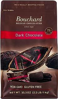Bouchard Belgian Dark Chocolate Gluten-Free 72% Cacao (35.3 OZ / 2.2 LB)