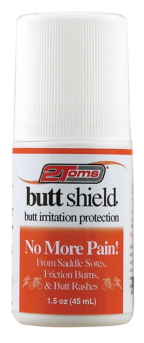 2Toms ButtShield (Roll-On) - Provides 24 Hour Protection from Chafing and Skin Irritation - Waterproof and Sweatproof (1.5 Ounce)
