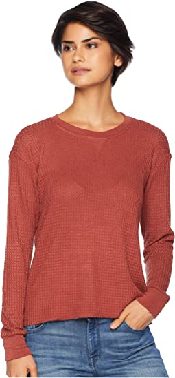Cited Long Sleeve Thermal Top