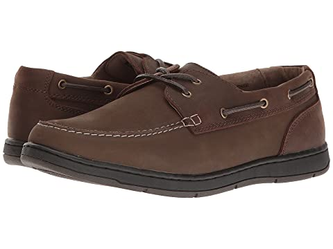 Nunn Bush Schooner Men's Moc ... Toe Casual Boat Shoes