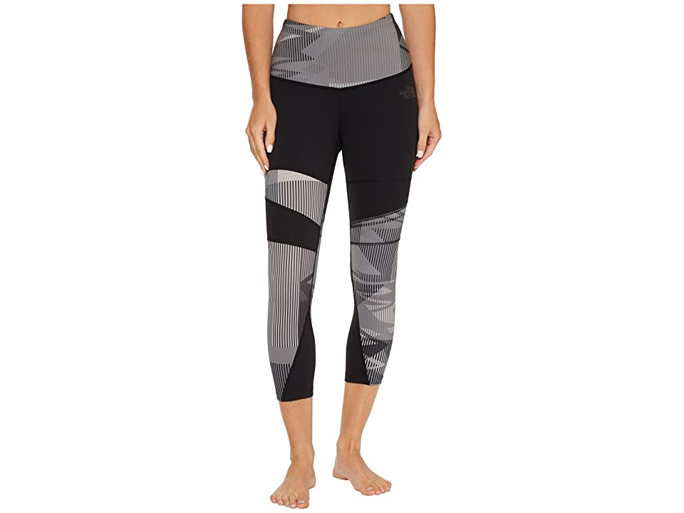 The North Face Motivation Printed Tights (TNF Black Ziggy Zaggy Print) Women