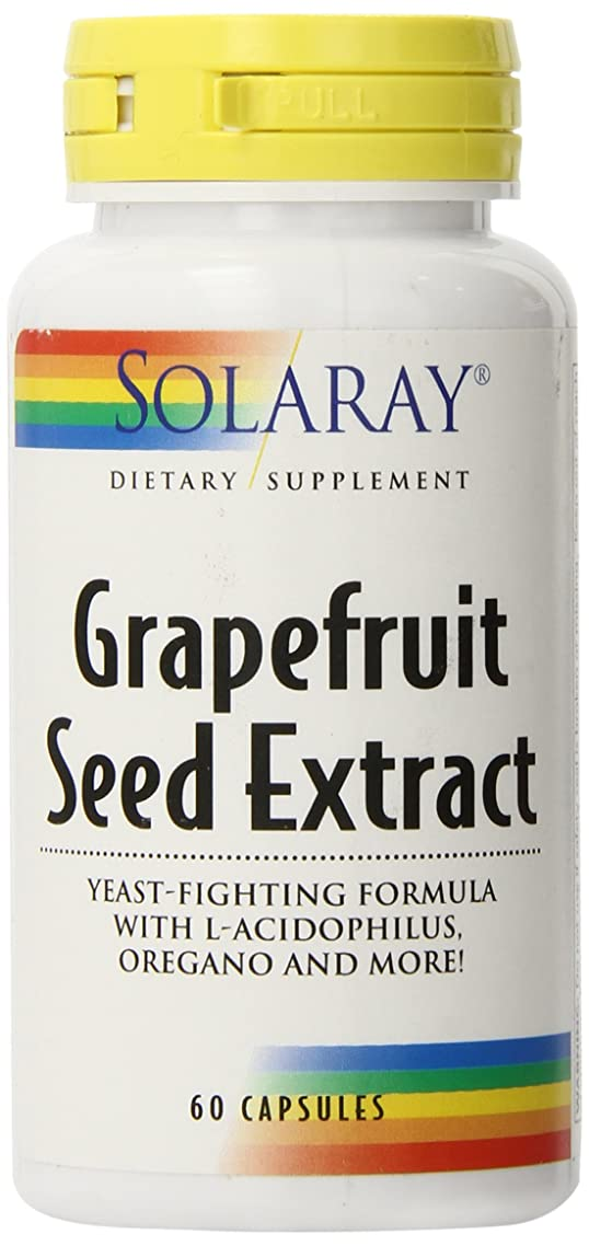 Solaray Grapefruit Seed Extract Capsules, 250mg, 60 Count