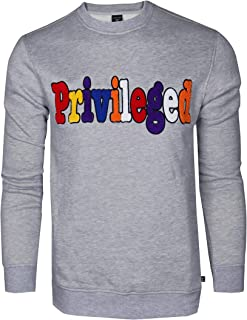 Screenshotbrand Mens Urban Hip Hop Premium Fleece - Pullover Activewear Street Fashion Crew Neack Sweatshirt