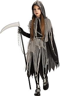 Grim Reaper Girl Costume Glow in The Dark for Halloween