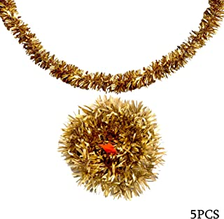 ANPI Christmas Tinsel, Tinsel Garland Decoration for Home Christmas Tree Room Party
