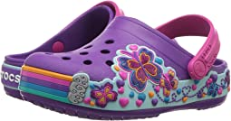 Crocband Fun Lab Graphic Clog (Toddler/Little Kid)