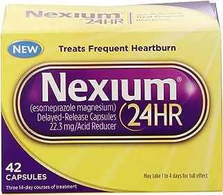 Nexium 24HR Capsules, 126 Count Pack (1w64ws)