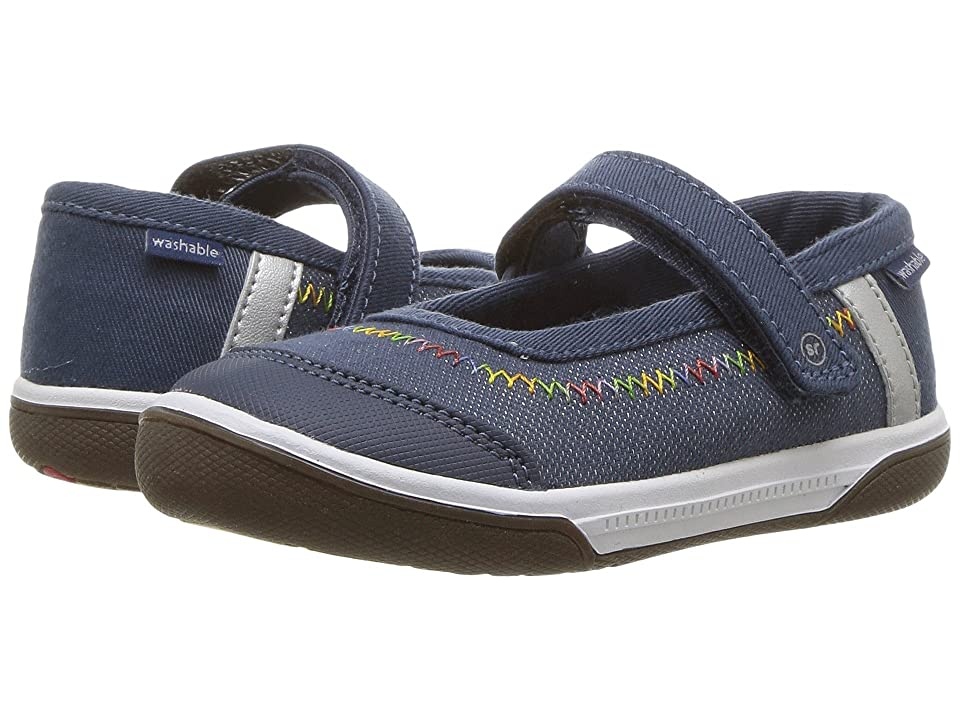 Stride Rite Made 2 Play Jill (Toddler) (Navy) Girl