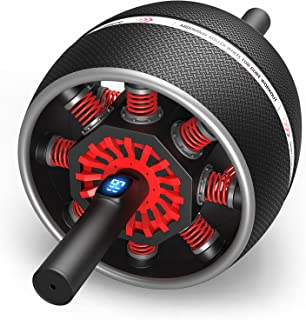 JOROTO Ab Roller Wheel for Core Workouts - Digital Counting Core Trainer for Abdominal Exercise Abs Workout with Resistanc...