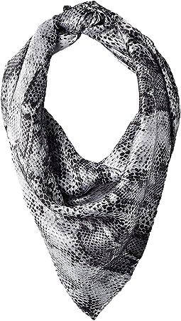 Grey Snake Print