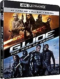 G.I. JOE: THE RISE OF COBRA and G.I. JOE: RETALIATION arrive on 4K Ultra HD July 20 from Paramount