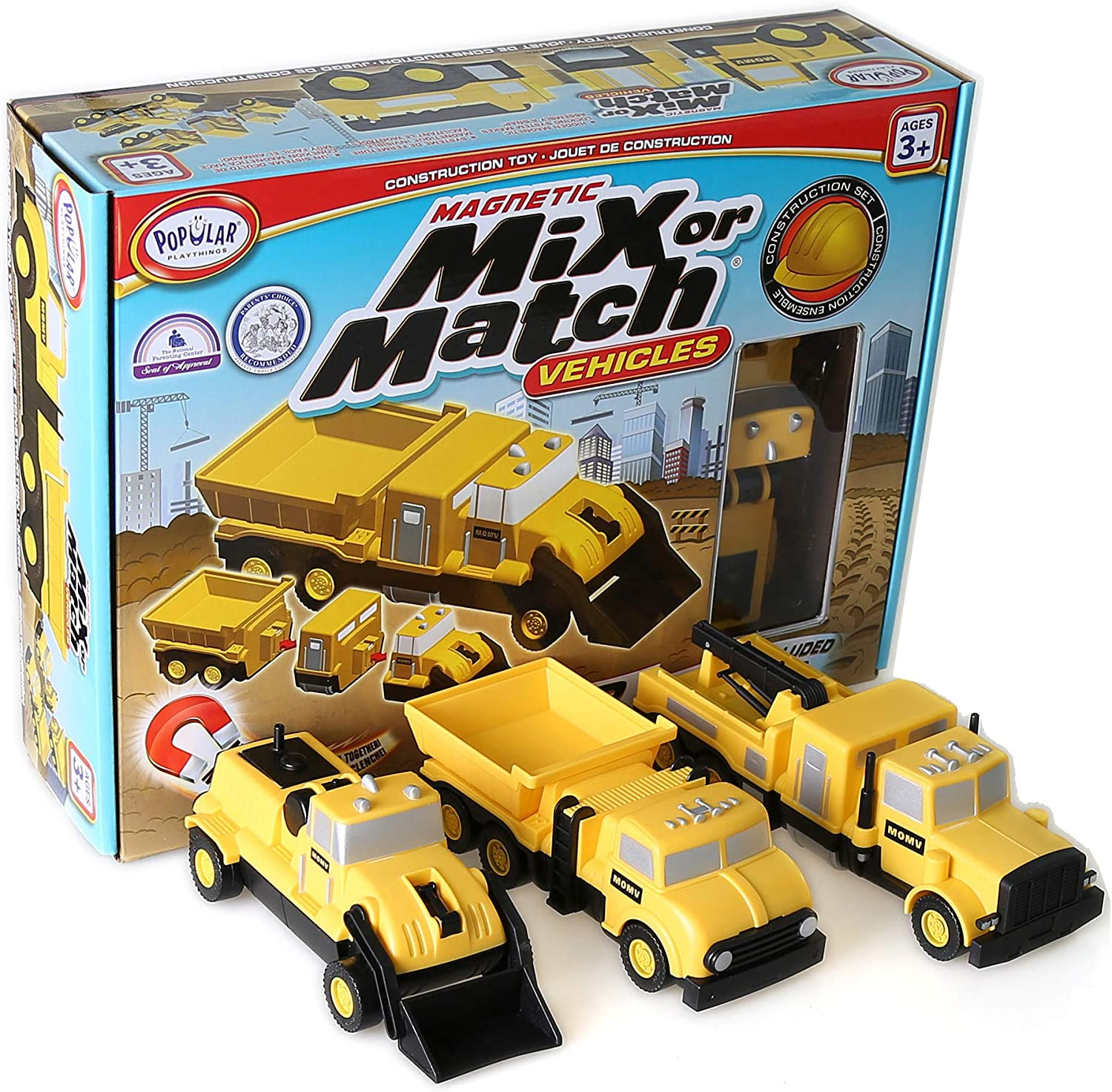 Mix or Match - Construction - Building Set by Popular Playthings (60315)