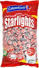 Sponsored Ad - Nosh Pack Peppermint Starlight Mints Individually Wrapped Candy 5 Pounds Approx. 400 Mints