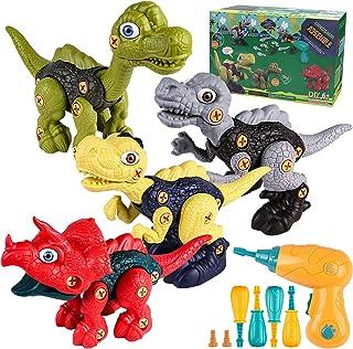 DoDoMagxanadu Take Apart Dinosaur Toys for Kids, Dinosaur Toys for Kids 3 4 5 6 7 Year Old Boys, Building Construction Kit...