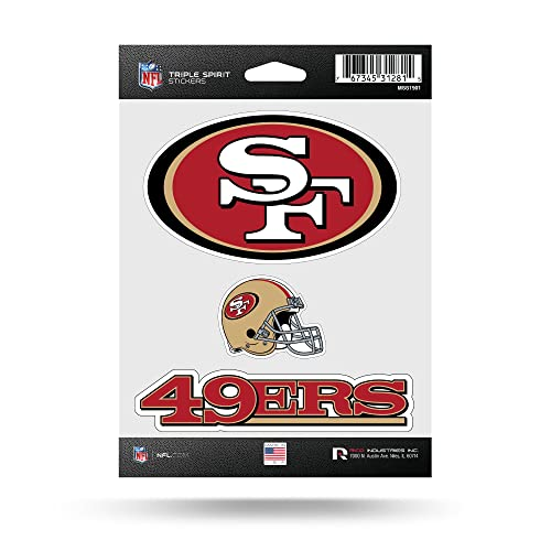 Rico NFL Triple Spirit Stickersnfl Triple Spirit Stickers e9a57373e
