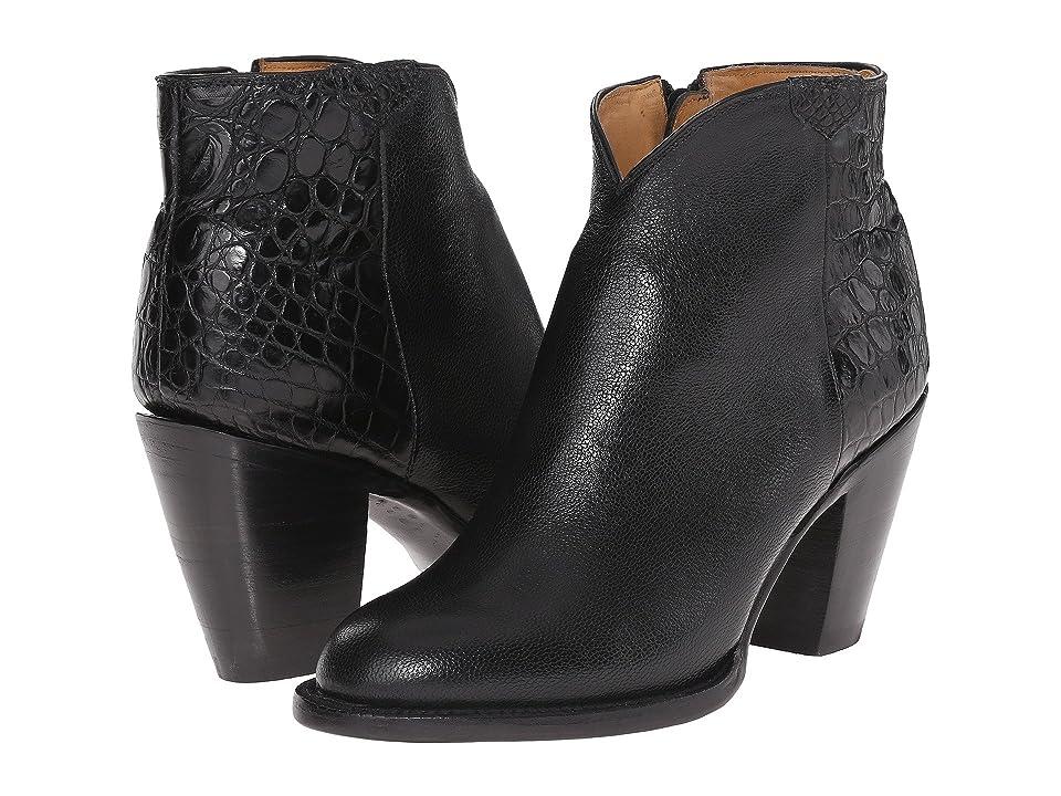 Lucchese Jenna (Black) Cowboy Boots