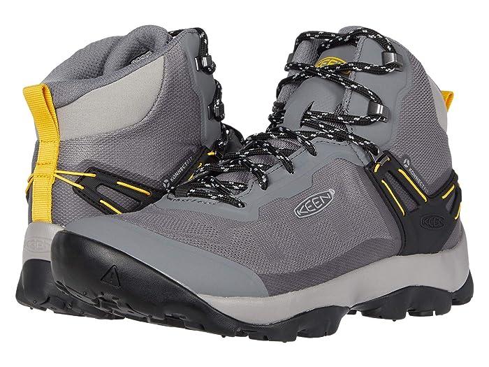 Keen  Venture Vent Mid (Steel Grey/ Yellow) Mens Shoes
