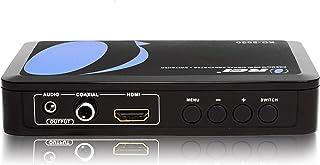 Orei XD-2000 Premium 1080p Dual HDMI PAL to NTSC Video Converter Scaler Support upto 480Hz TVs , Black